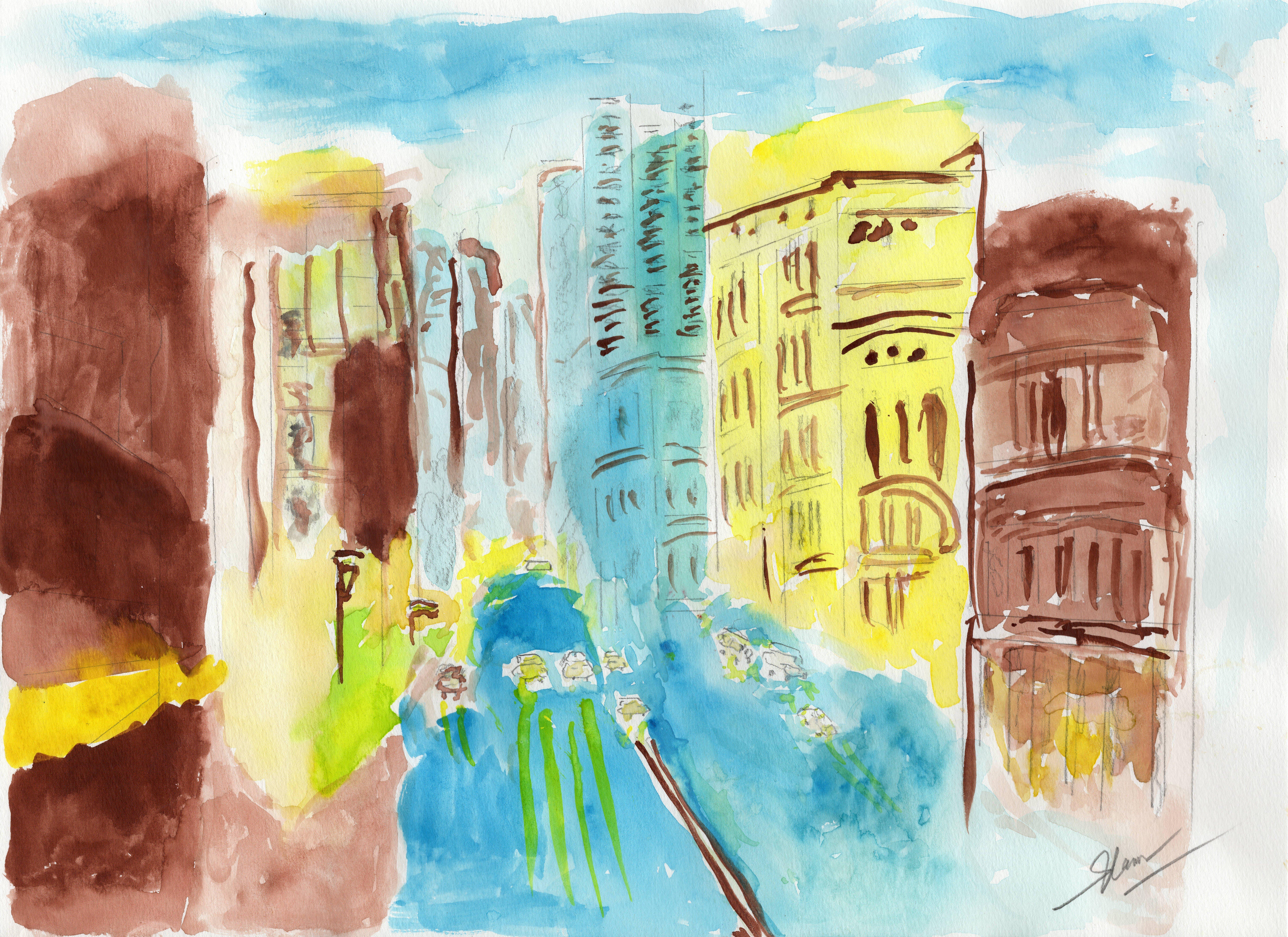 "Art - Sok, Robert - ""Cityscape"" 00073"
