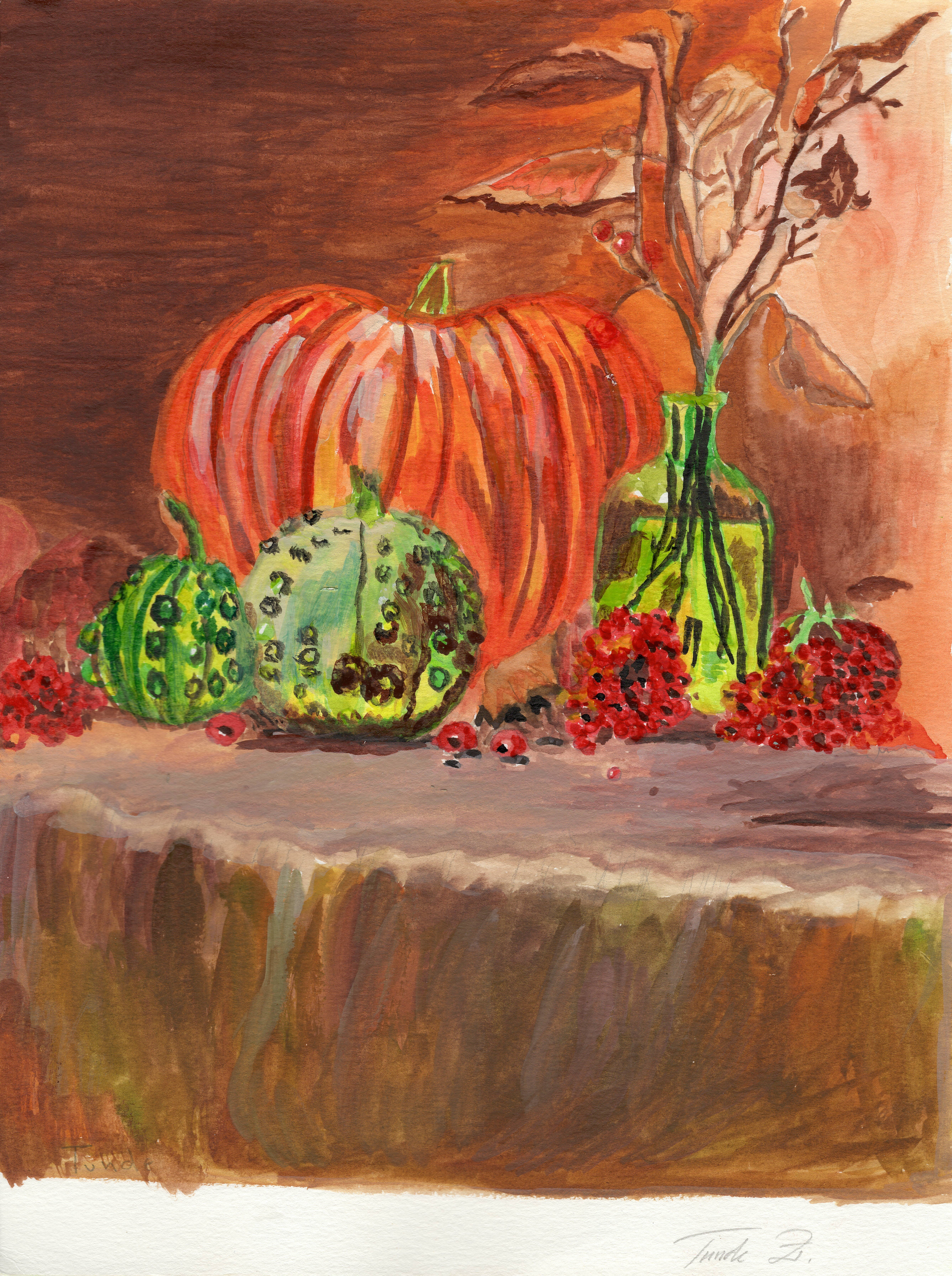 "Art - Zwerencz, Tunde - ""Autumn Festival"" 00074"