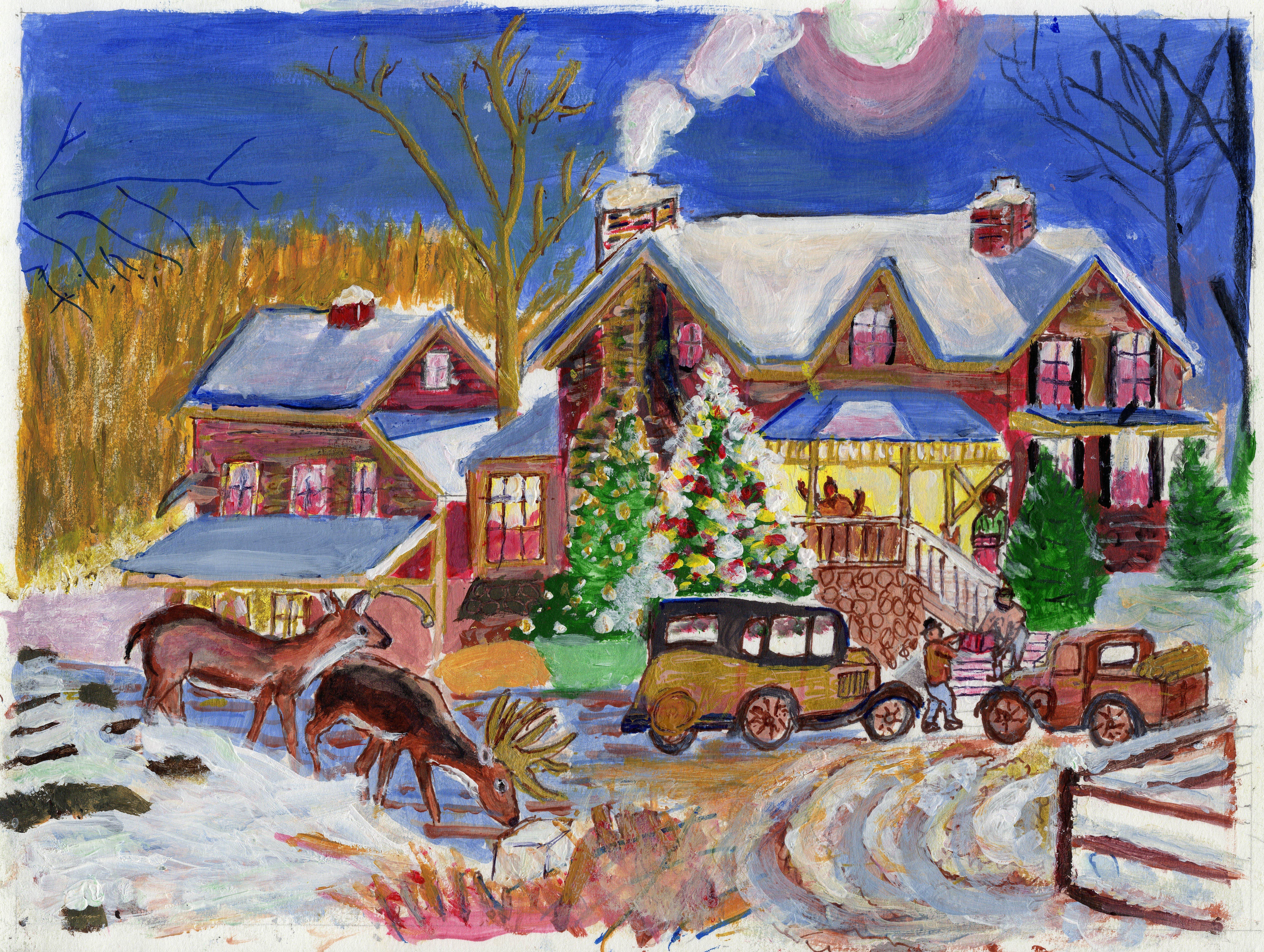 "Art - Fernandez, Nordmann - ""Christmas"" 00077"