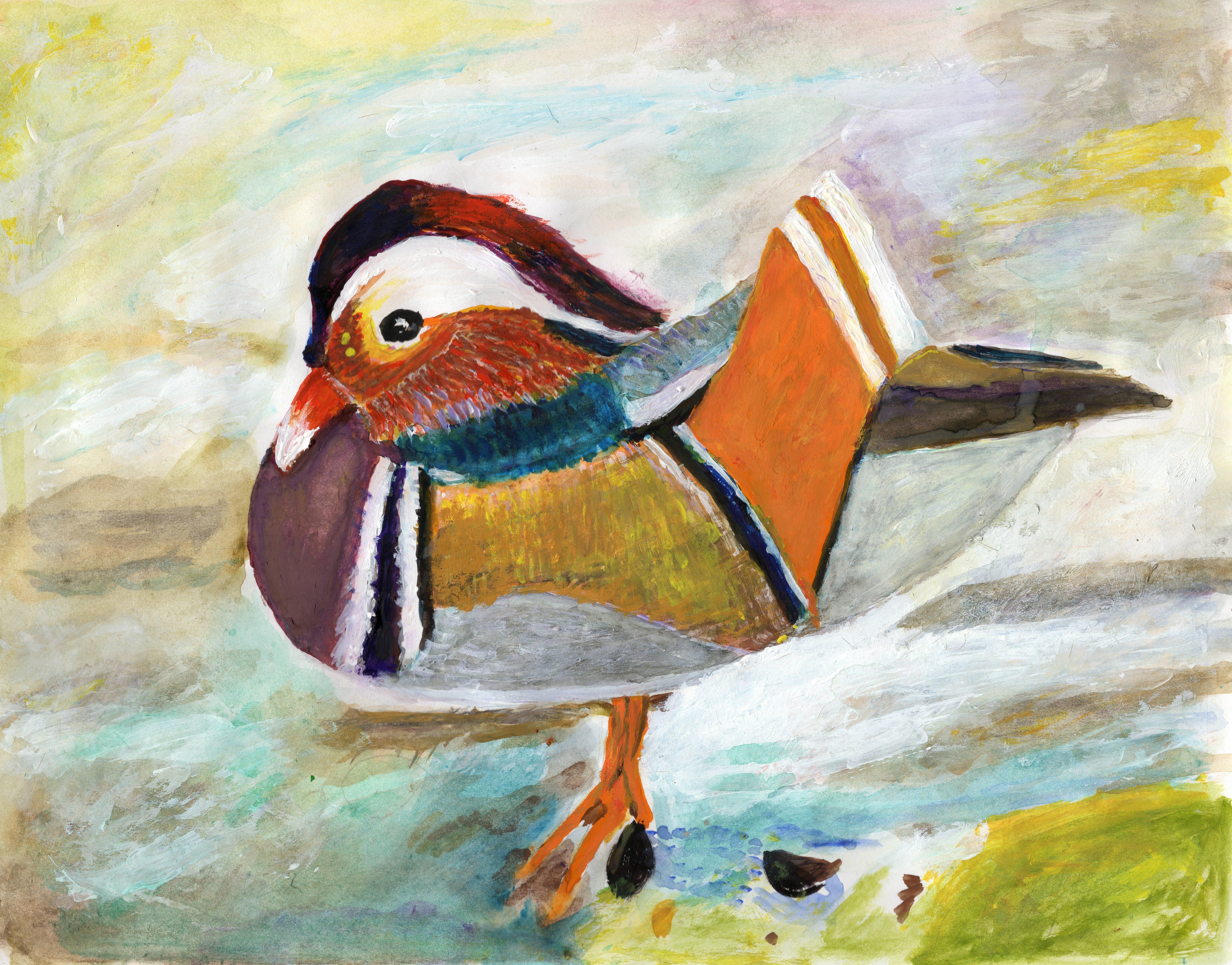 "Art - Qu, Fenglan - ""Ducky"" 00078"