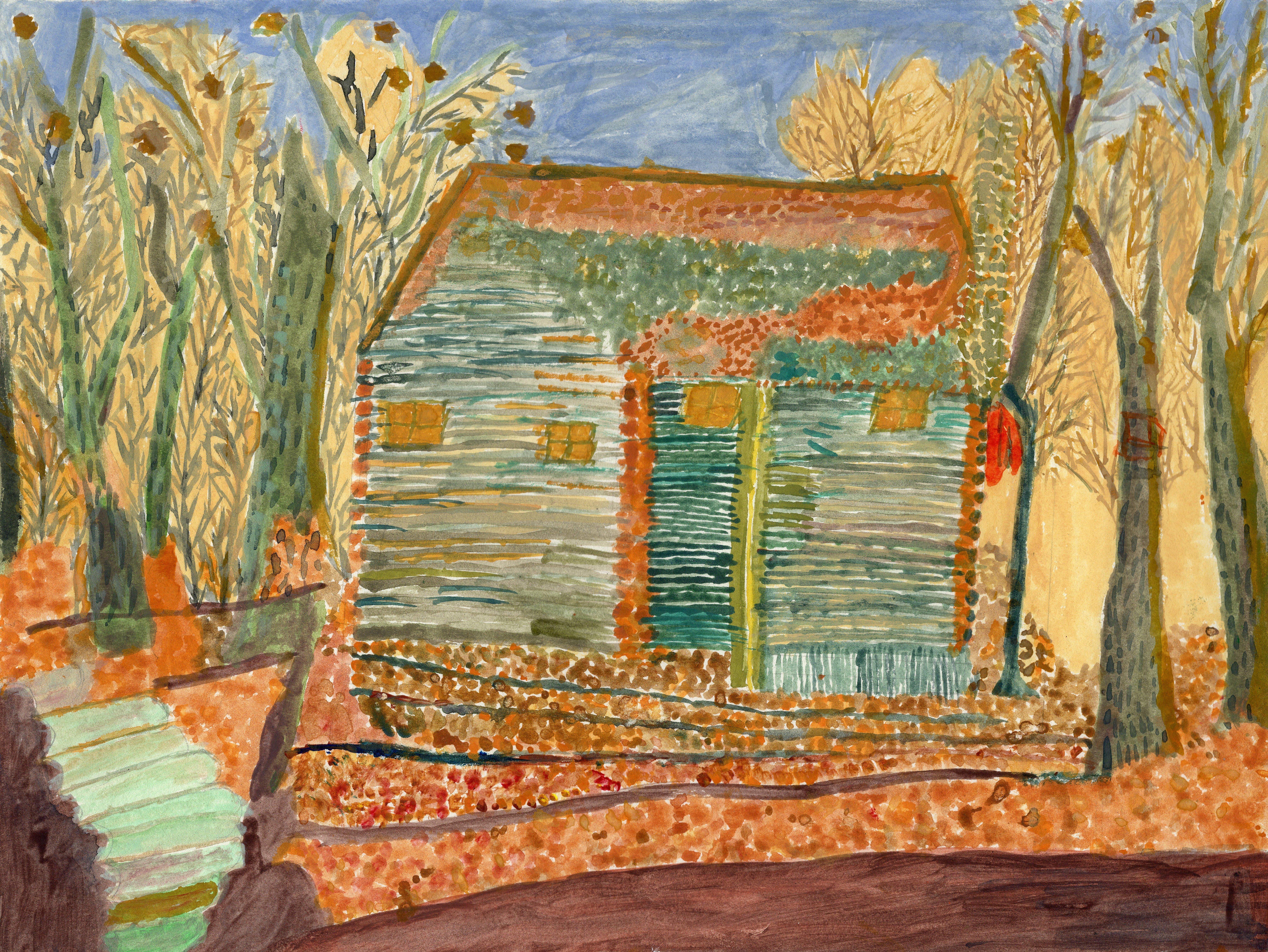 """Art - Shah, Vanita - """"Log House"""" 00079"""
