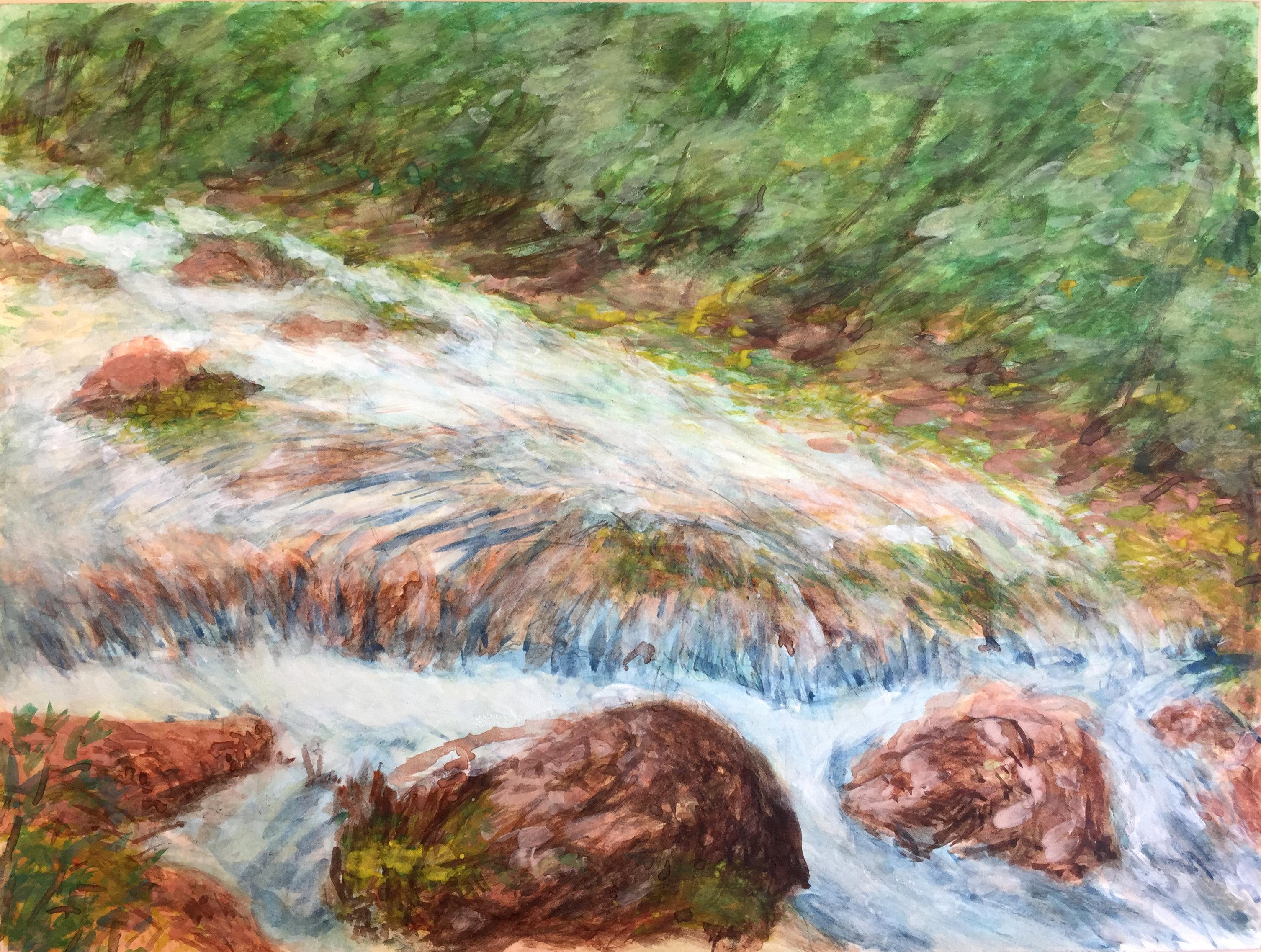 """Art - Yu, Luzhen - """"Stream"""" 00080"""