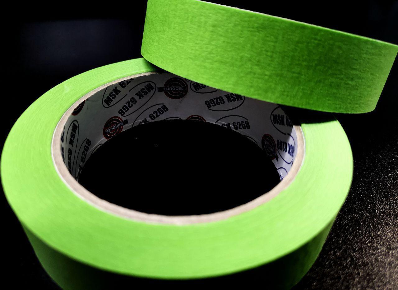 Eurocel Малярная лента 45м, Зеленая 25мм