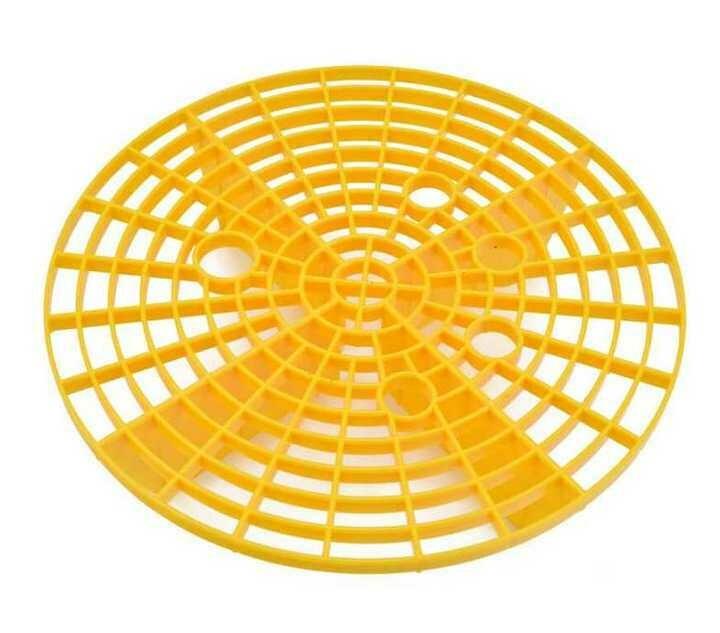Решетка в ведро для мойки, цв. желтый