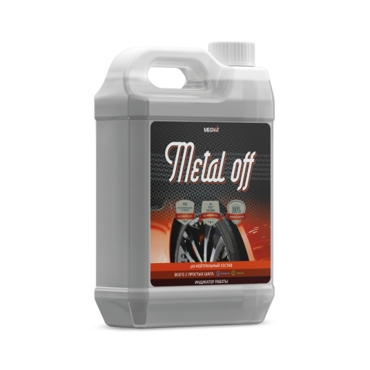 Megvit Metal off очиститель дисков 5 л
