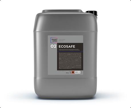 Smart Open 02 Ecosafe - первичный бесконтактный состав без фосфата 22кг,