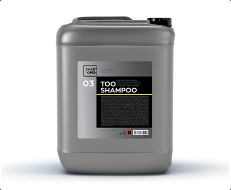 Smart Open 03 TOO Shampoo - высокопенный ручной шампунь без фосфата 5кг,