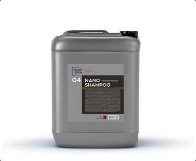 Smart Open 04 Nano Shampoo - нано-шампунь для ручной мойки 5 л,