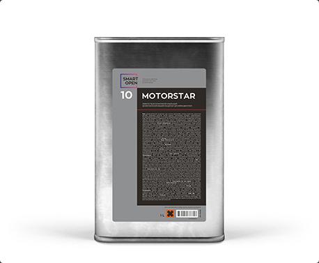 Smart Open 10 MotorStar - диэлектрический концентрат для мойки двигателя 1 л, Smart Open