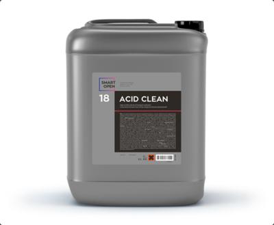 Smart Open 18 ACID CLEAN - очиститель дисков на минеральных кислотах, 5л