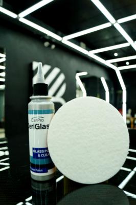 Car Pro Glass pad (Глэс пэд) Абразивный, тонкий d 130 мм