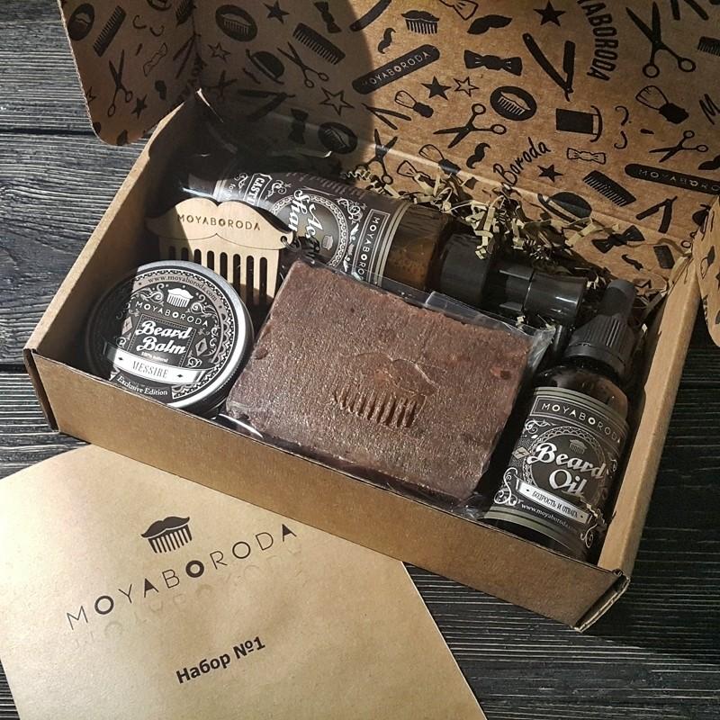 "Moyaboroda - Готовый ""Набор №1"" (Бородачу, Мужчине)"