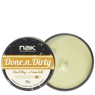 NAK - Done.n.Dirty Воск для укладки волос 25 гр