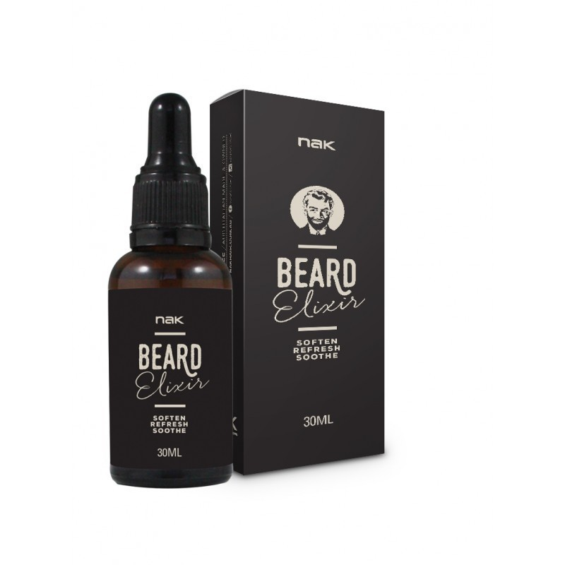 NAK- Beard and face Elixir Масло для бороды и лица 30 мл