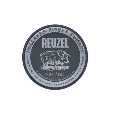 Reuzel Extreme Hold Matte Pomade - Матовая паста для укладки волос 35 гр