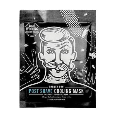 "Barber Pro ""Post Shave Cooling Mask / ОХЛАЖДАЮЩАЯ МАСКА ПОСЛЕ БРИТЬЯ 30ml"