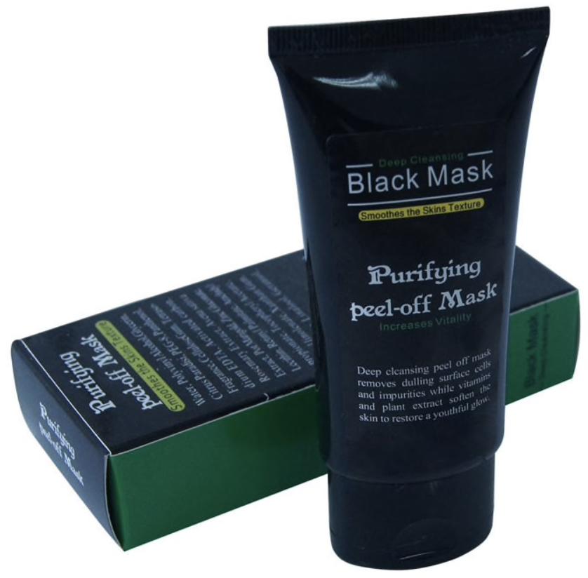 Purifying peel-off Black Mask / Глубоко очищающая черная маска 50 мл