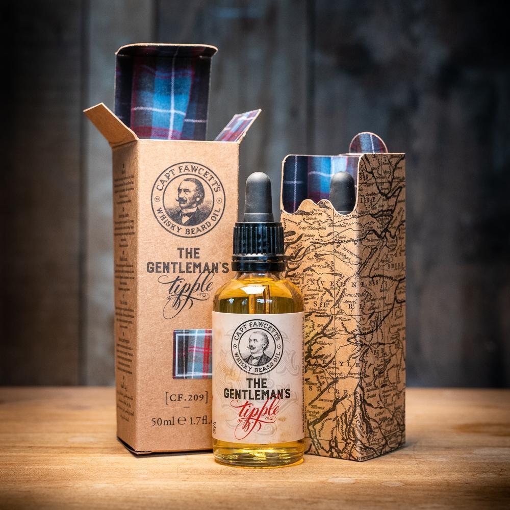 CAPTAIN FAWCETT Масло для бороды Gentleman's Tipple Whisky, 50 мл