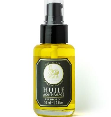 Osma Traditional Huile Avant-Rasage - Масло для/до бритья с дозатором 50 мл