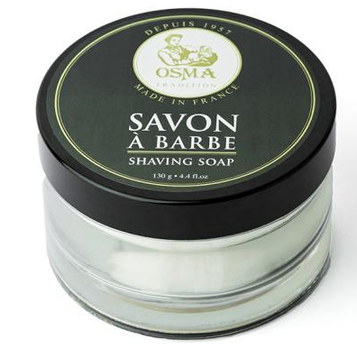 Osma Traditional Savon A Barbe (Shaving Soap) - Мыло для бритья в стекле 130 гр