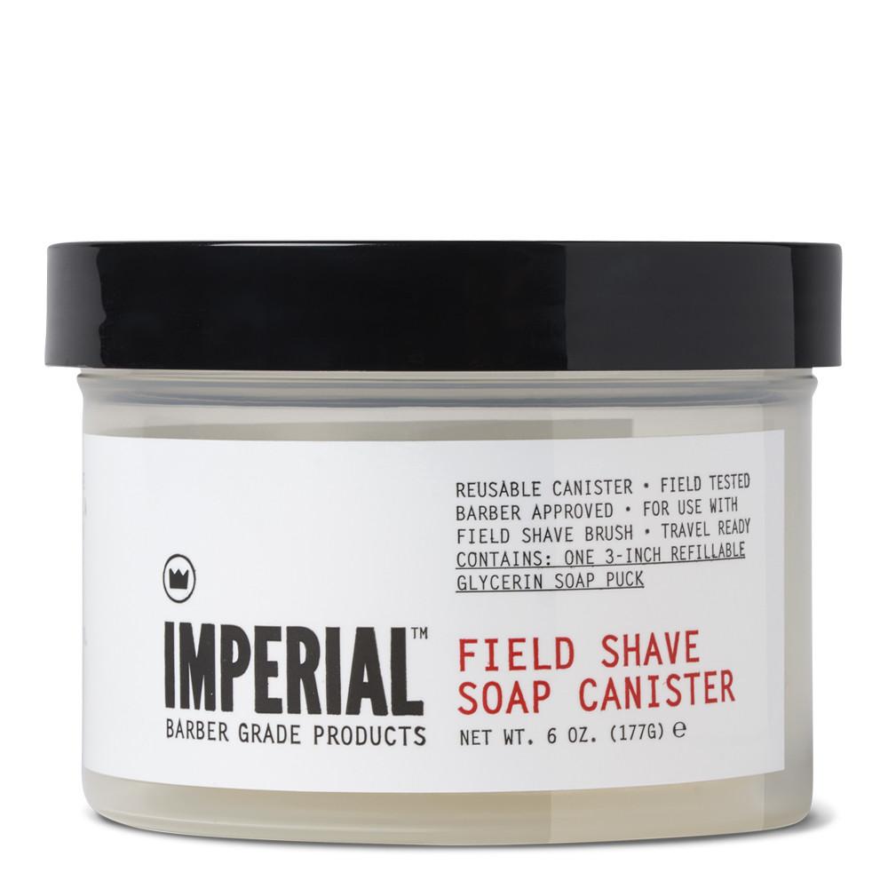 Imperial Barber: Field Shave Soap Canister - Глицериновое мыло для бритья 177 гр