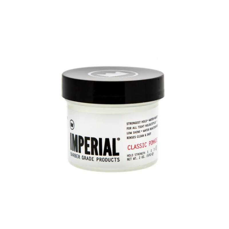 Imperial Barber Classic Pomade - Воск для укладки волос сильной фиксации 59 мл