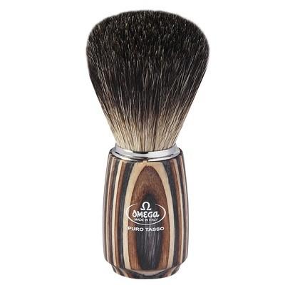 Omega 6752 - Помазок для бритья, Барсучий ворс