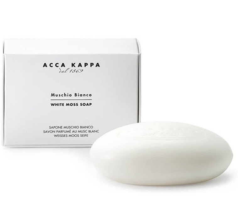 Acca Kappa Muschio Bianco Soap - Мыло туалетное Белый Мускус 100 гр