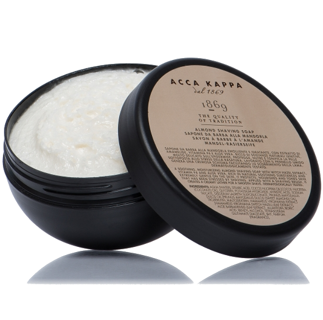 Acca Kappa 1869 Almond Shaving Soap - Мыло для бритья миндальное 200 гр