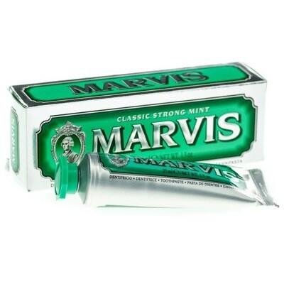 Marvis Classic Strong Mint - Зубная паста Классическая насыщенная мята 25 мл