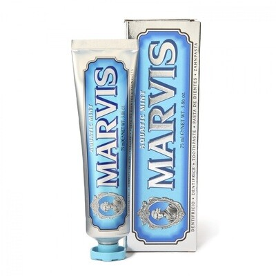 Marvis Aquatic Mint - Зубная паста Свежая мята 85 мл