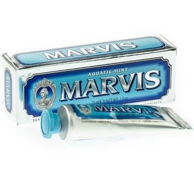 Marvis Aquatic Mint - Зубная паста Свежая мята 25 мл