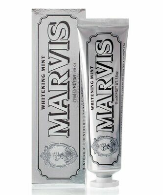 Marvis Whitening Mint - Зубная паста Отбеливающая мята 85 мл