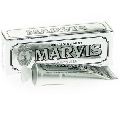 Marvis Whitening Mint - Зубная паста Отбеливающая мята 25 мл