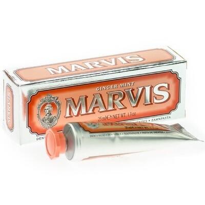 Marvis Ginger Mint - Зубная паста Мята и имбирь 25 мл