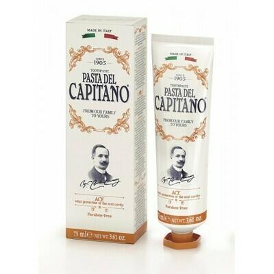 Pasta del Capitano Ace - Зубная паста мята и ментол 75 мл