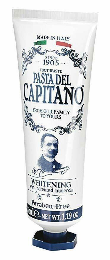 Pasta del Capitano Whitening - Зубная паста отбеливающая 25 мл