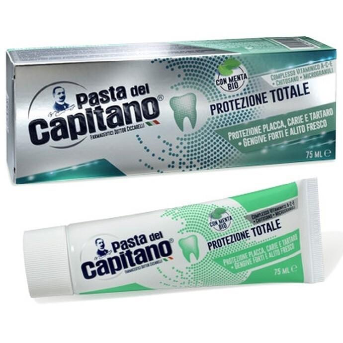 Pasta del Capitano - Зубная паста Комплексная защита 75 мл