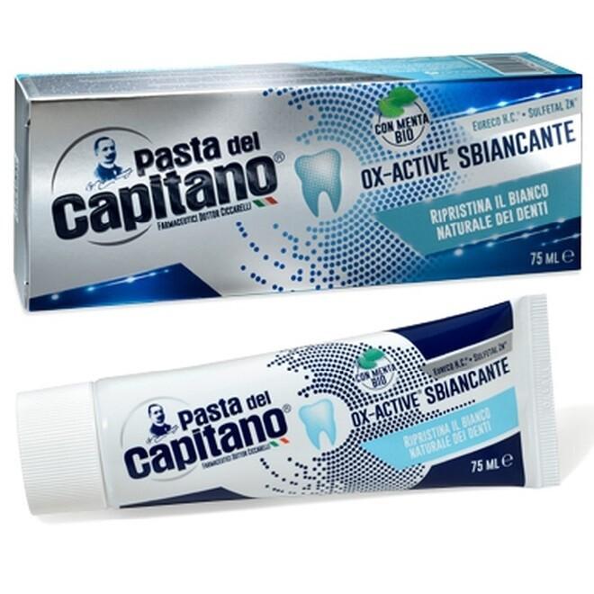 Pasta del Capitano - Зубная паста Комплексное отбеливание по технологии Ox-Active 75 мл