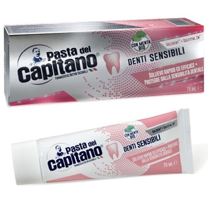 Pasta del Capitano - Зубная паста для чувствительных зубов 75 мл