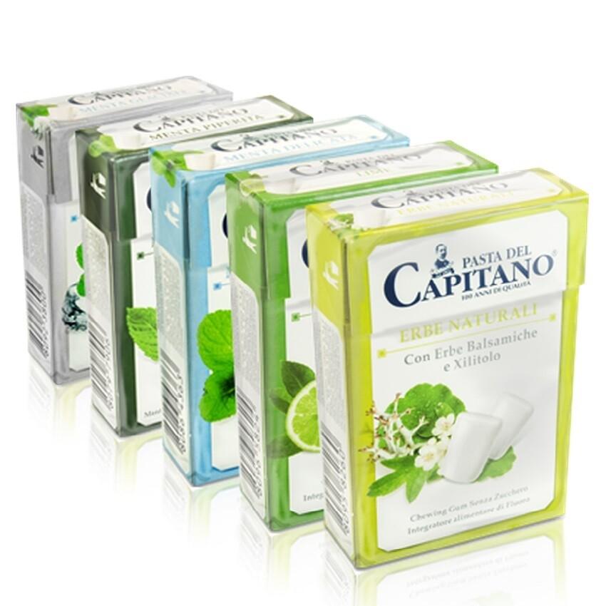 Pasta del Capitano - Жевательная резинка Умеренная мята 30 гр