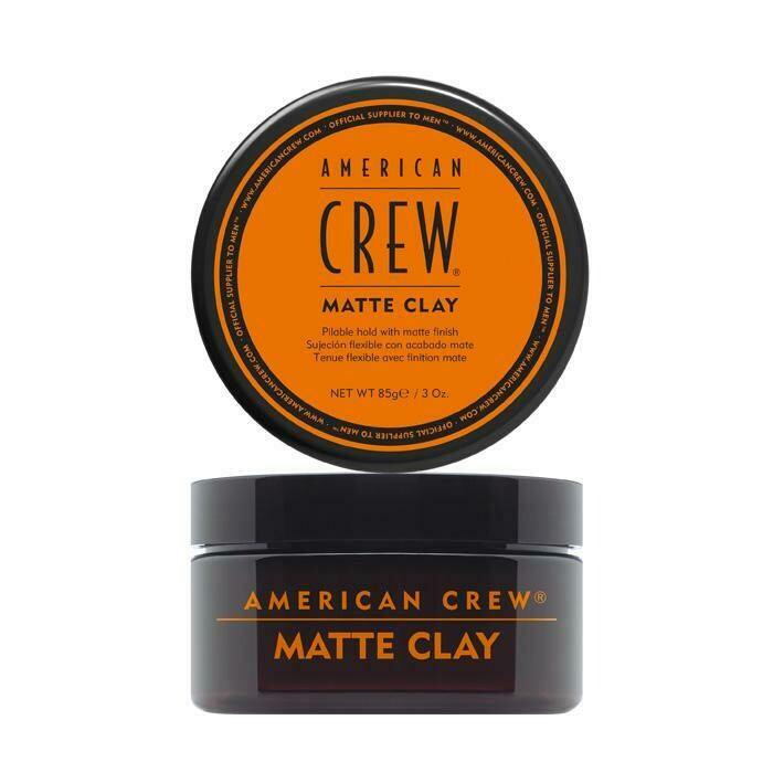 American Crew Matte Clay - Матовая глина сильная фиксация и матовый финиш 85 гр