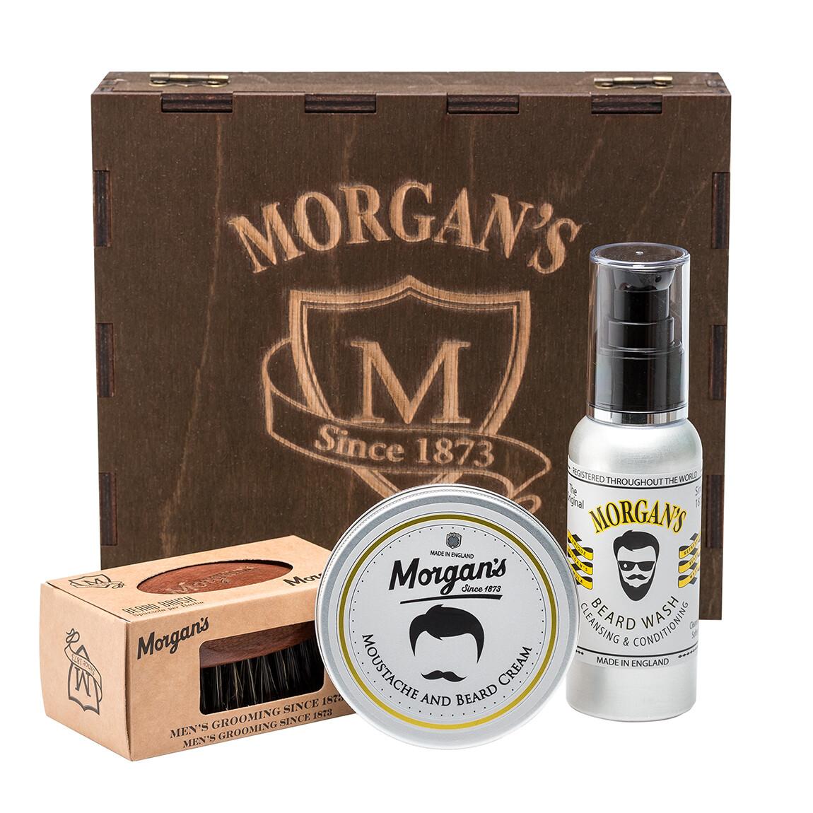 Morgan's - Премиальный подарочный набор для бороды