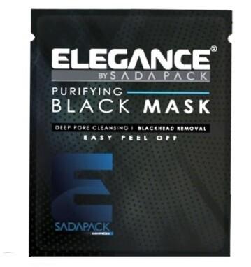 Elegance Black Peel-Off Facial Mask - Черная очищающая маска для лица 30 мл