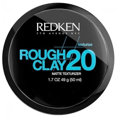 Redken Rough Clay 20 - Глина текстурирующая пластичная с матовым эффектом 50 мл