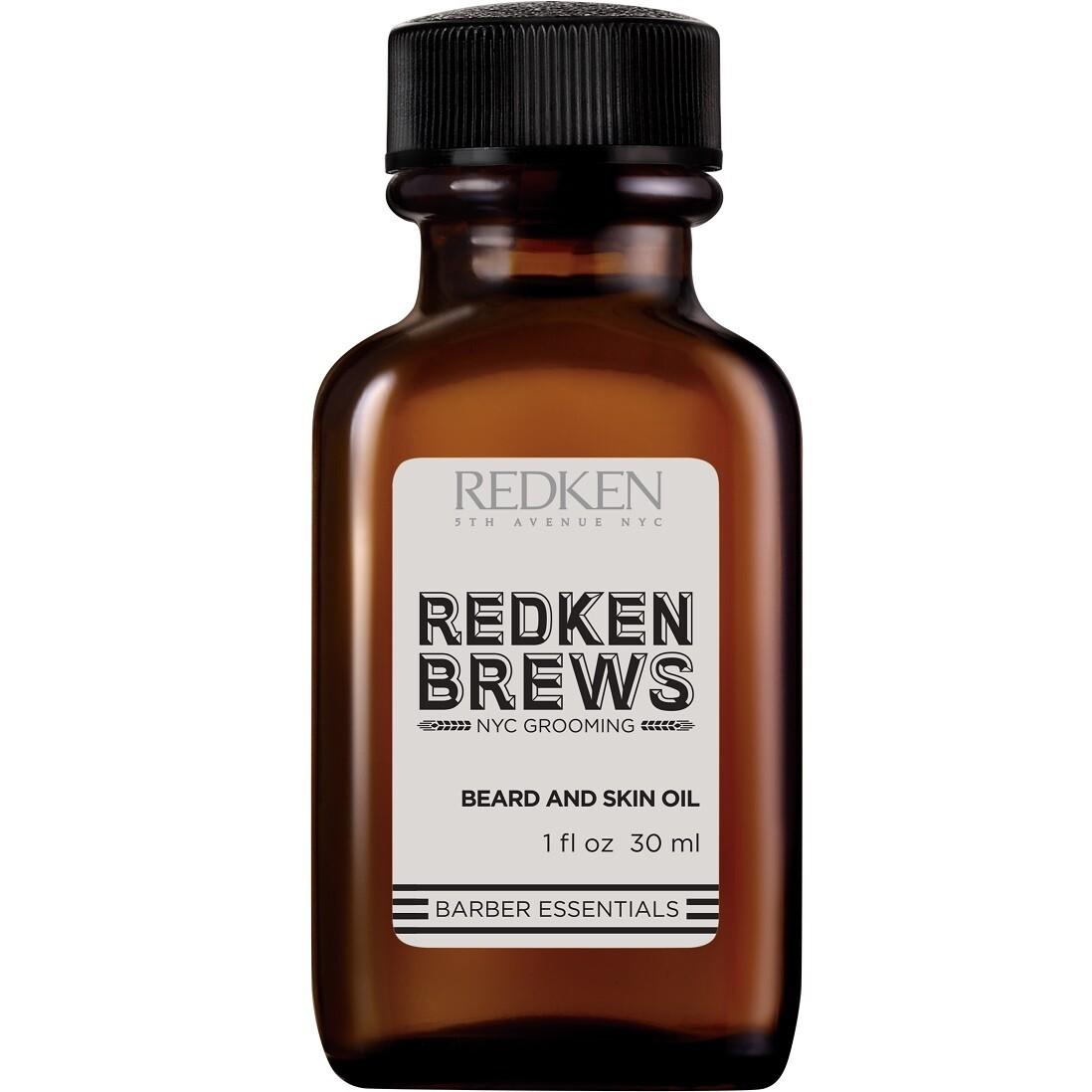 Redken Brews Beard & Skin Oil - Масло для бороды и кожи лица 30 мл