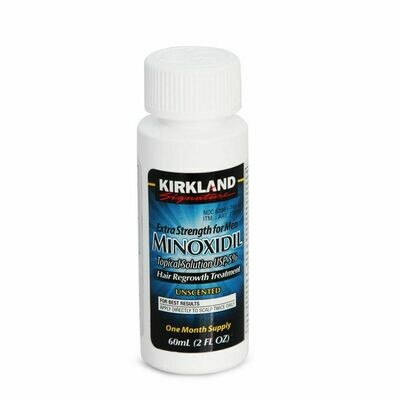 Kirkland Minoxidil - Лосьон для роста бороды  КИРКЛАНД МИНОКСИДИЛ 5% (60МЛ)