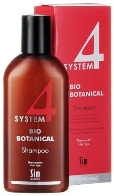 System 4  - Био Ботанический шампунь для стимуляции роста волос, 215 мл