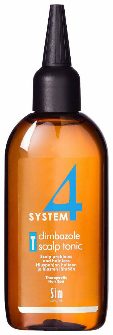 System 4 - Тоник для волос Sim Sensitive Therapeutic Climbazole Scalp T, 100 мл