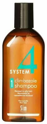 System 4 - Шампунь Sim Sensitive №1 Для нормальных и склонных к жирности волос, 215 мл